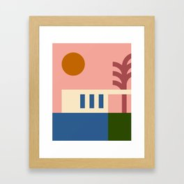 Thinking Back To The Holiday I Never Had .01 Framed Art Print