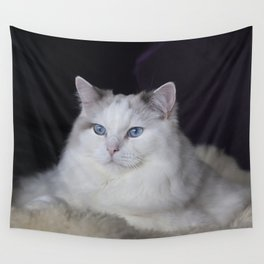 Ragdoll Cat Her Majesty Wall Tapestry