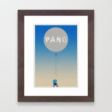 Pang Framed Art Print