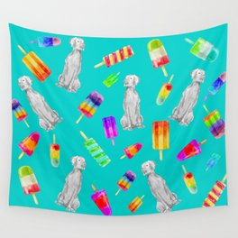 WEIMS AND POPSICLES Wall Tapestry
