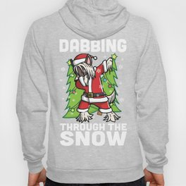 Chinese Crested Dabbing Through The Snow Christmas Hoody