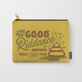Good Riddance 2017 - a truly shitty year Carry-All Pouch