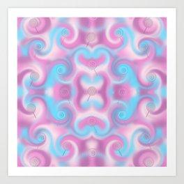 Fractal-Candy Art Print