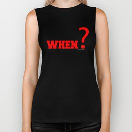 If Not Now , When? Fitness & Bodybuilding Motivation Quote Retro Style Biker Tank