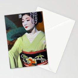 Geisha Maiko IV Stationery Cards