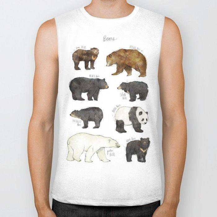 Bears Biker Tank