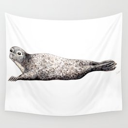 Harbour Seal Wall Tapestry