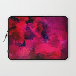Red Abstract Painting Pattern Laptop Sleeve