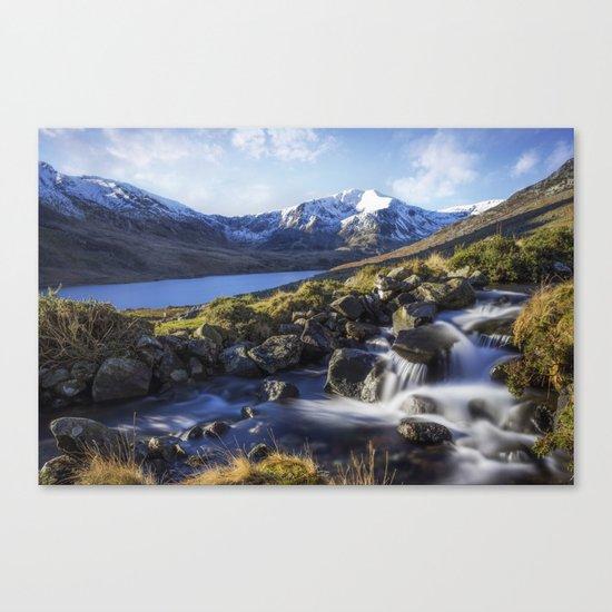 Glyder Fawr Range Canvas Print
