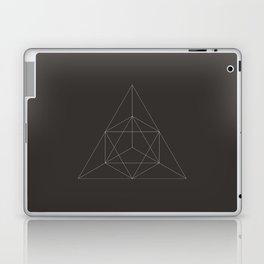 Geometric Dark Laptop & iPad Skin