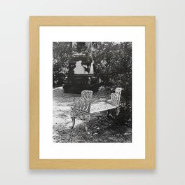 By the Grave I Mourn Framed Art Print