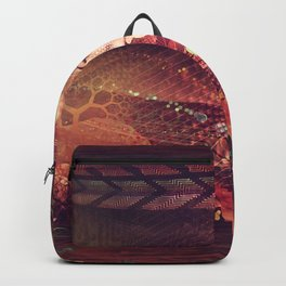 Shadow Of A Thousand Lives - Digital painting - Manafold Art Backpack
