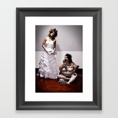 Let Her Eat Cake Framed Art Print