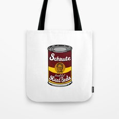 Schrute Fresh Cut Sliced Beets  |  Dwight Schrute  |  The Office Tote Bag