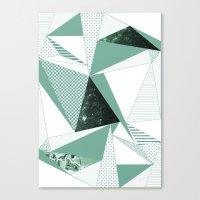 trip Canvas Prints featuring trip by .eg.