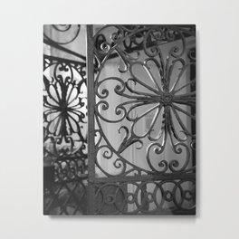 Iron Gate 1 Metal Print