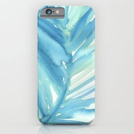 Abstract Palm Leaf iPhone Case
