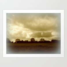 Felton Common. Art Print