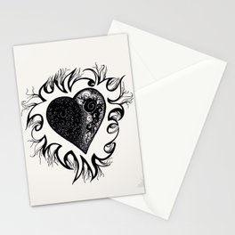 """If I Had A Heart, This Is What It Would Look Like"" Stationery Cards"