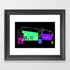 Station Framed Art Print