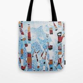 Alyeska First Snowfall Tote Bag