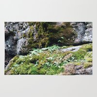 moss Area & Throw Rugs featuring Moss by Infra_milk