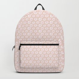 Sand Dollars Sea Urchin in Blush Pink Backpack