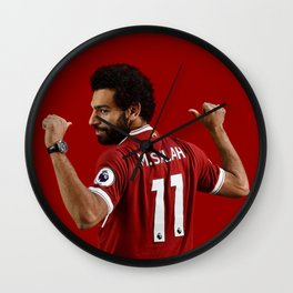 M SALAH Wall Clock