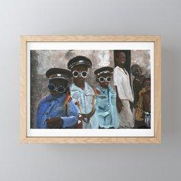 the children kano, nigeria 1982 Framed Mini Art Print