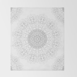 MANDALA NO. 23  #society6 Throw Blanket