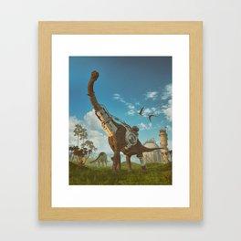 [RE].VOLVE (everyday 06.29.18) Framed Art Print