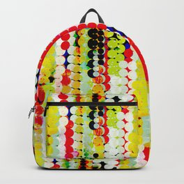 bohemian abstract pattern Backpack