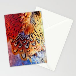 Pheasant Feathers Stationery Cards