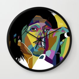 Duta WPAP Wall Clock