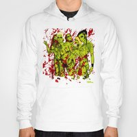 zombies Hoodies featuring SEXY ZOMBIES by Thomas B.- Rock Artwork