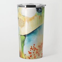 """Rainwash"" Original Painting by Flora Bowley Travel Mug"
