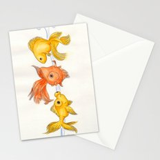 Goldfish Trio Stationery Cards