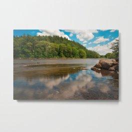 Hudson River Metal Print