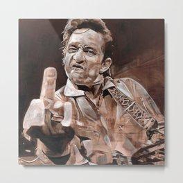 Johnny Cash Metal Print