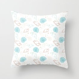 Seashell Throw Pillow