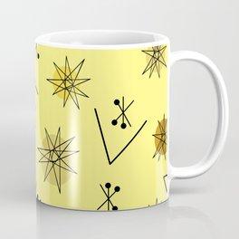 Mid Century Modern Sputnik Starburst Planets 4 Coffee Mug