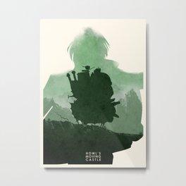 Howl's Moving Castle Metal Print