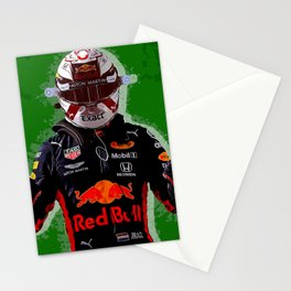 Max Verstappen Stationery Cards