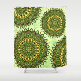 Mandala Natura Shower Curtain