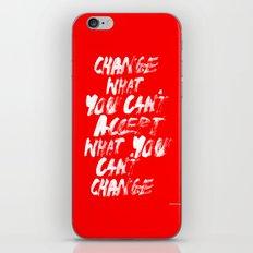 Accept / Change iPhone & iPod Skin