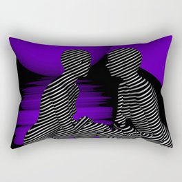 go violet -08- Rectangular Pillow