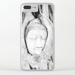 Buddha Tree Clear iPhone Case