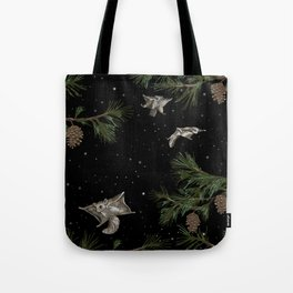 FLYING SQUIRRELS IN THE PINES Tote Bag