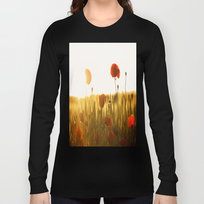 Poppies in the Sun Long Sleeve T-shirt