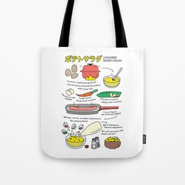 Japanese Potato Salad Tote Bag